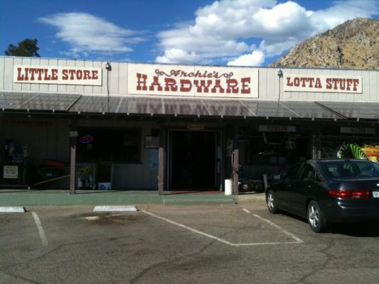 Kern County Hardware Store - With Real Estate For Sale