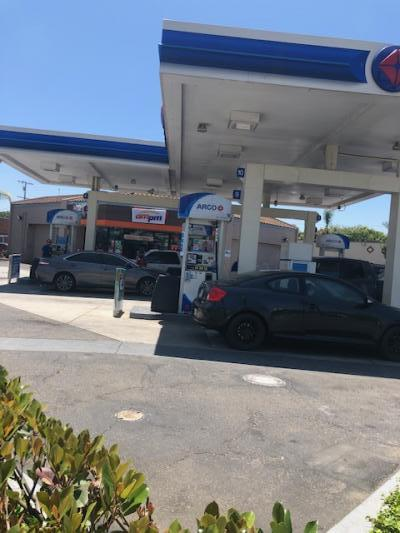 Long Beach, Los Angeles County Arco AMPM Gas Station, Mart - Real Estate For Sale