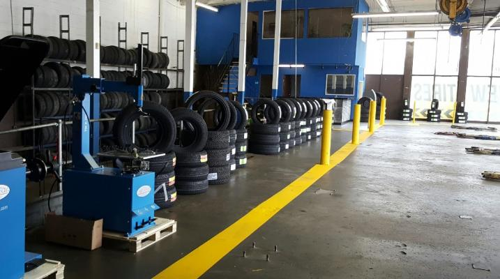 Riverside County 7 Bay Tire Shop - Freestanding For Sale