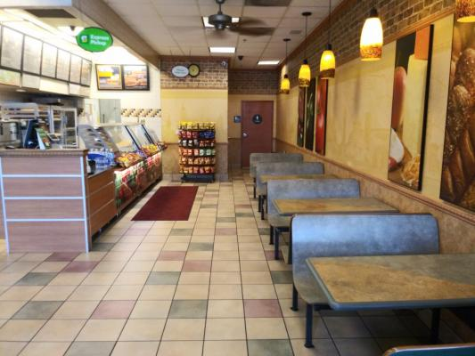 San Joaquin County Subway Sandwich Franchise  For Sale