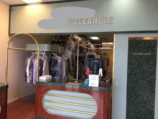 Folsom, Sacramento County Dry Cleaners - Absentee Run For Sale