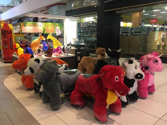 Torrance, Los Angeles County Animal Rides Electric Mall Kiosk For Sale