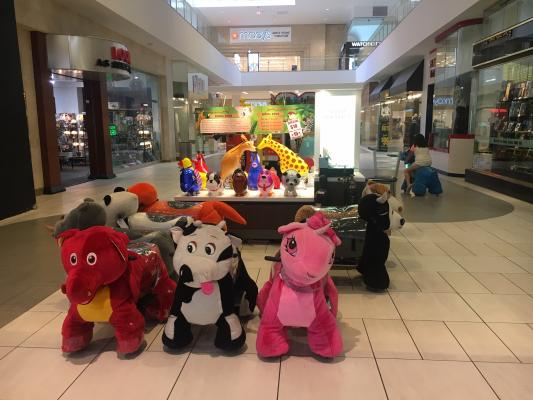 Animal Rides Electric Mall Kiosk Business For Sale