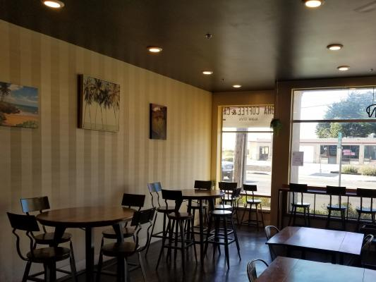 Monterey Coffee Cafe Restaurant For Sale