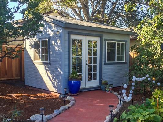 SF Bay Area Built to Order Sheds, Studios, ADU Contractor For Sale