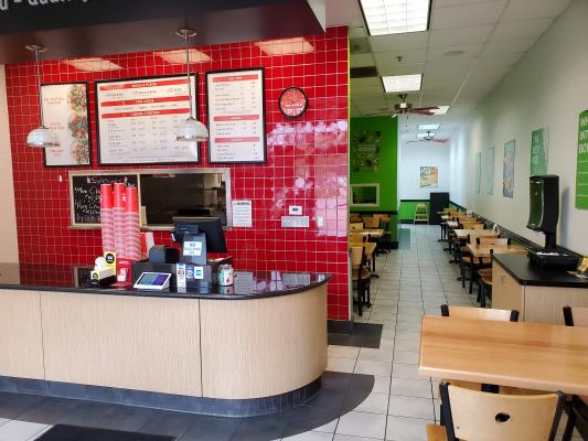 Glendora, Los Angeles County Flame Broiler Restaurant Franchise For Sale