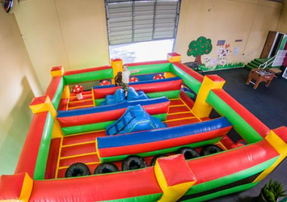 Indoor Birthday Party Play Inflatables Service Business For Sale