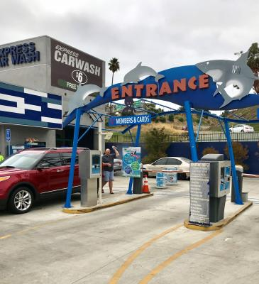 San Pedro, South Bay, LA Area Express Car Wash Real Estate - Absentee Run For Sale