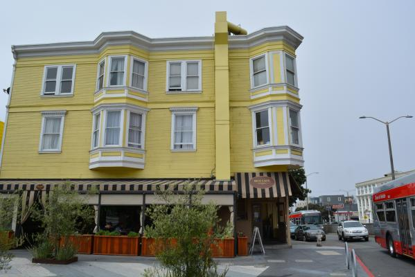 San Francisco Cafe Restaurant With Patio - Beer & Wine License For Sale