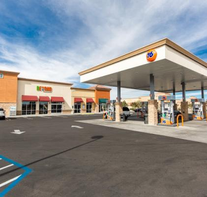 Riverside County Chevron Gas Station, Car Wash - With Real Estate For Sale