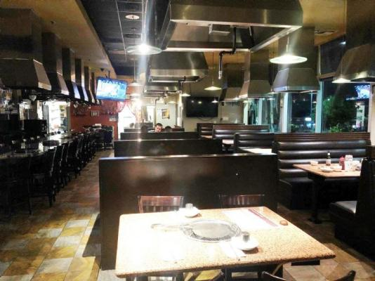 Los Angeles County Area Korean BBQ Restaurant For Sale