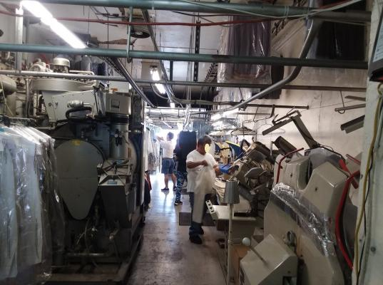 Dry Cleaning Plant, Laundry Services - Long Lease Business For Sale