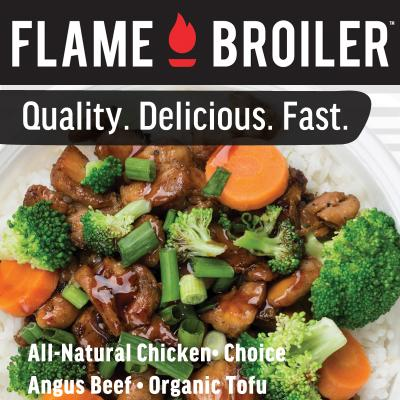 Orange County Flame Broiler Franchise For Sale