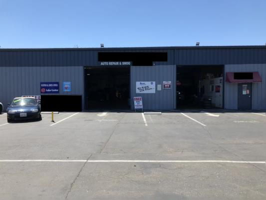 Sacramento Area Auto Repair and Smog Shop With Used Car Dealership Business For Sale
