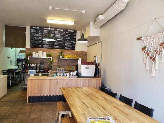 Downtown San Diego Coffee And Juice Shop For Sale