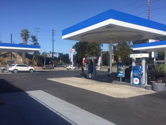 North Hollywood, LA County Gas Station Circle K Store For Sale