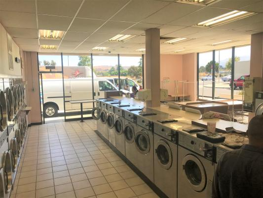Newhall, LA County Coin Laundromat For Sale