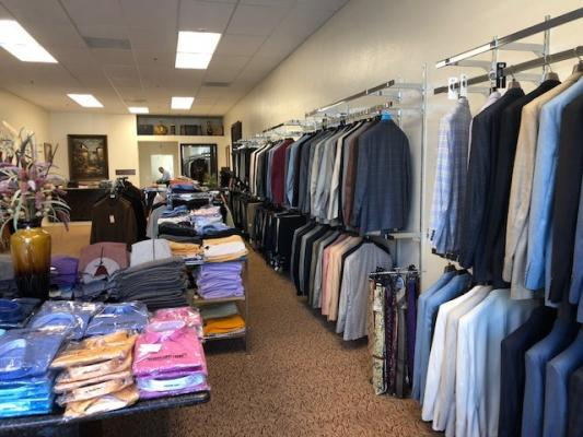 Mens Italian Apparel Clothing Store - Great Area Business For Sale
