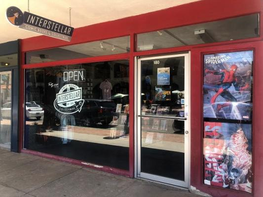 Downtown Palm Springs Comic Book, Collectibles Store For Sale