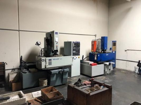 Industrial Tooling, Machining - Molds Making Shop Business For Sale