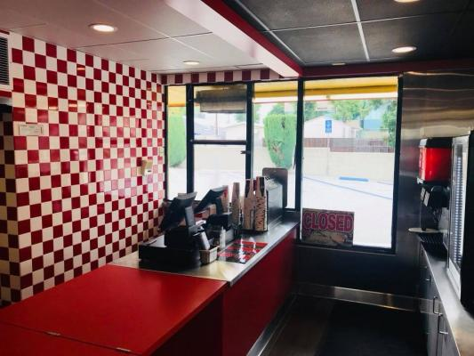 Glendora, LA County Drive-Thru Restaurant Space - Asset Sale For Sale