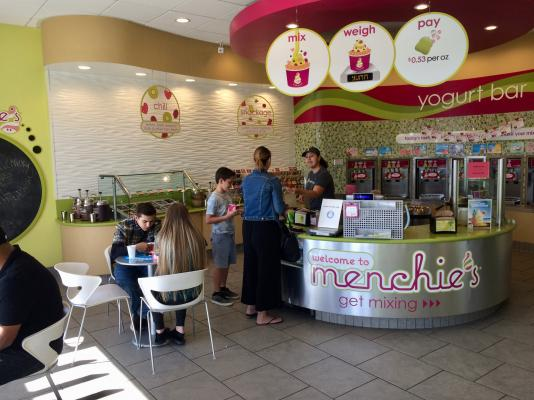 Los Angeles County Menchies Self Serve Yogurt Franchise For Sale