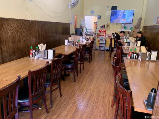 San Mateo County Vietnamese Noodle Restaurant - Can Convert For Sale