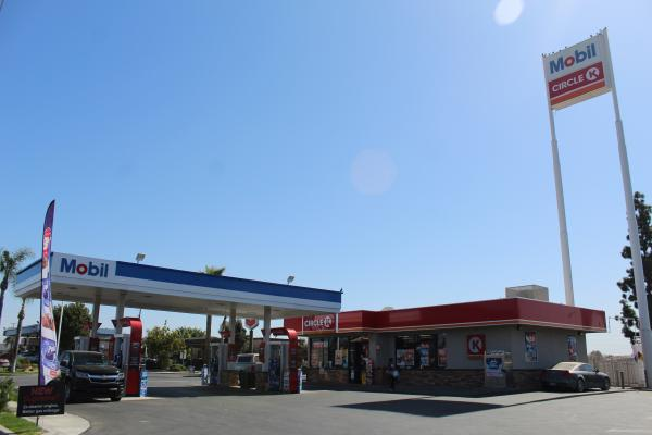 Bakersfield, Kern County Mobil Gas Station, Circle-K, Real Estate For Sale