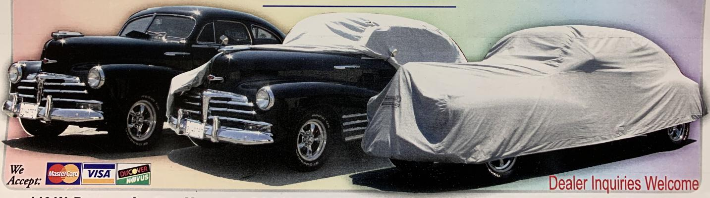Los Angeles County Area Car Cover Manufacturing Company For Sale