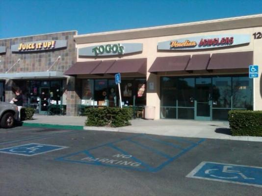 Los Angeles County Togos Franchise - Prime Location For Sale