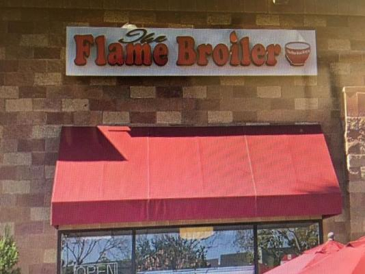 Flame Broiler Franchise Restaurant Business For Sale