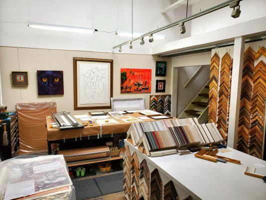 Santa Barbara Custom Framing Shop - Established, Great Area For Sale