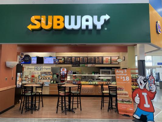 Sacramento Area Subway, Auntie Annes Pretzels Franchise - Low Rent For Sale
