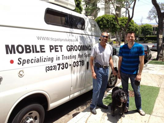 Los Angeles Area Mobile Pet Grooming Service - Absentee Run For Sale