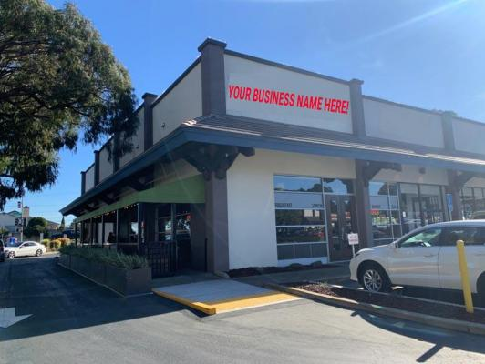 San Bruno, San Mateo County Restaurant, Full Bar, 47 License, Outdoor Patio For Sale