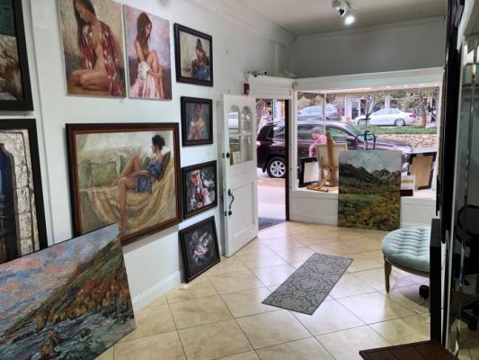 Carmel By The Sea Art Store - Beautiful, Great Location For Sale