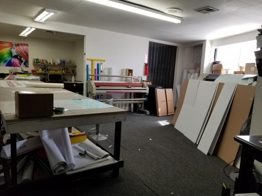 San Gabriel, Los Angeles Area Printing And Sign Company For Sale