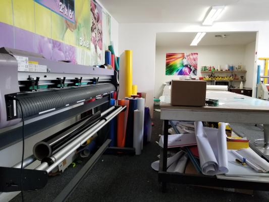 Printing And Sign Company Business For Sale