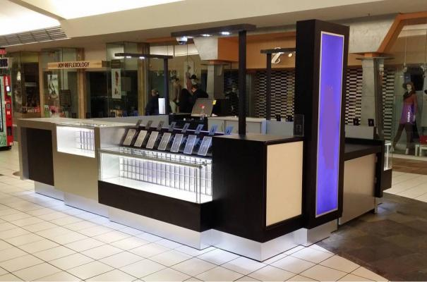 North Orange County Retail Wireless Phone Kiosk - In Mall For Sale