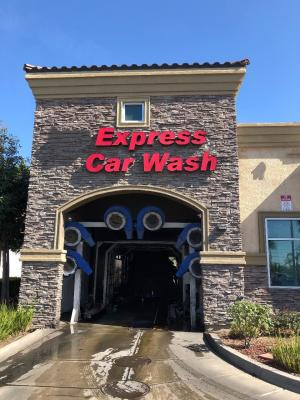 Riverside County Express Car Wash, Real Estate - High End, Equipped For Sale