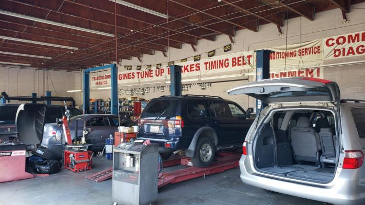 San Gabriel Valley, LA County Auto Repair Shop - Tires, Tune Services, Low Rent Business For Sale