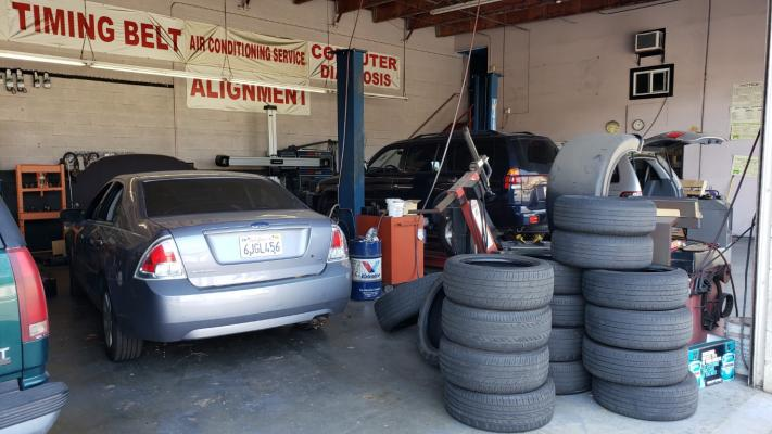 San Gabriel Valley, LA County Auto Repair Shop - Tires, Tune Services, Low Rent Companies For Sale