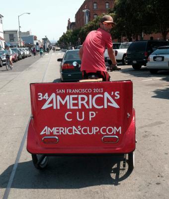 San Francisco Fantastic Pedicab Service - High Net Profits, Fun Business For Sale