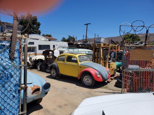 Los Angeles Area Salvage Junkyard For Volkswagen Bugs Service Business For Sale