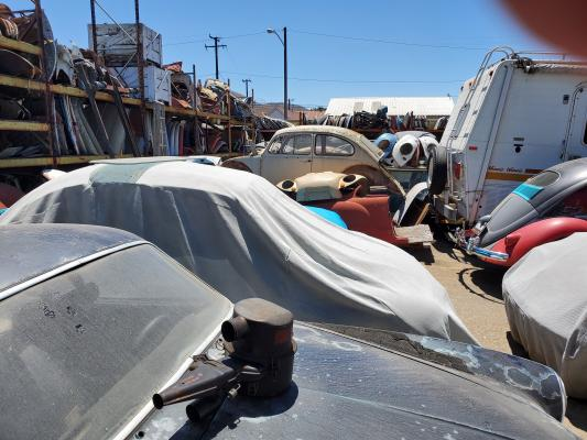 Selling A Los Angeles Area Salvage Junkyard For Volkswagen Bugs Service