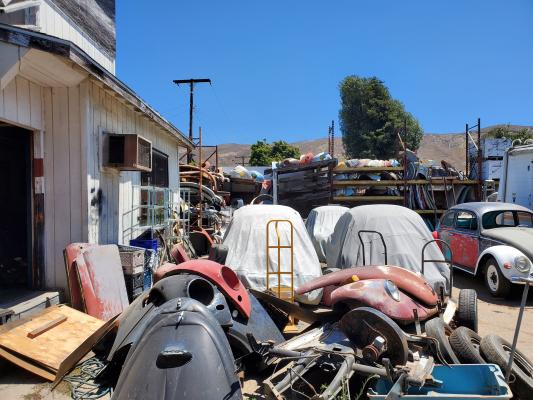 Salvage Junkyard For Volkswagen Bugs Service Business Opportunity