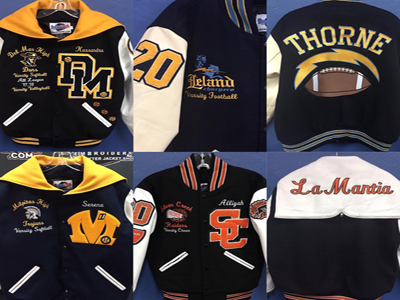 Niche Custom Embroidery, Letter Jacket Shop Company For Sale