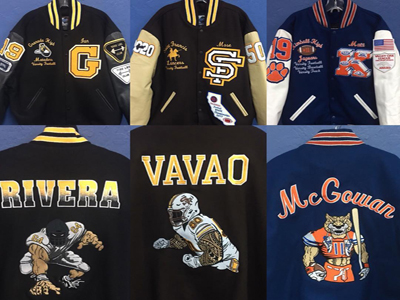 Buy, Sell A Niche Custom Embroidery, Letter Jacket Shop Business