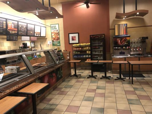 Santa Clara County Subway Sandwich Franchise - Outdoor Seating Business For Sale