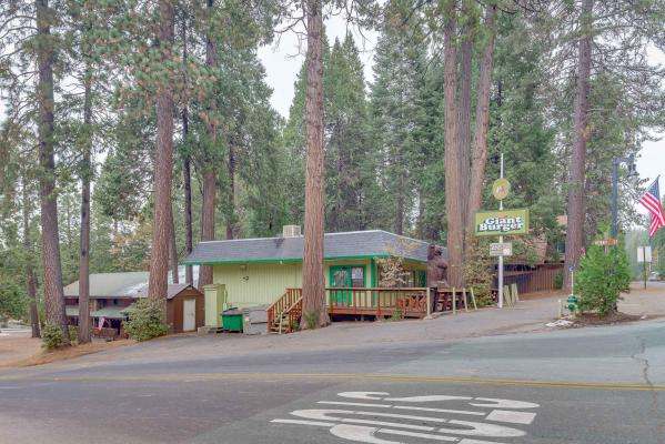 Arnold, Calaveras County Giant Burger Restaurant With Real Estate Companies For Sale